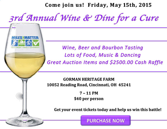 3rd Annual Wine & Dine for a Cure border=
